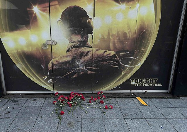 Flowers are placed outisde the Reina nightclub by the Bosphorus, which was attacked by a gunman, in Istanbul, Turkey, January 1, 2017.