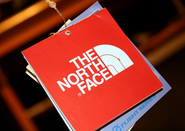 『The North Face』のロゴ