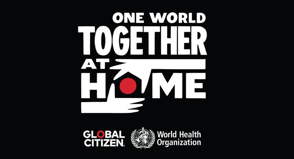 One World: Together At Home ロゴ